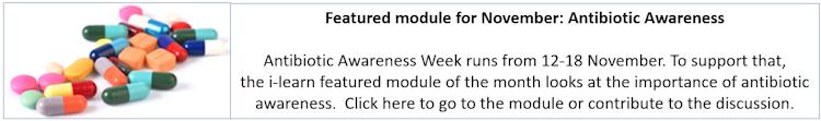 antibiotic awareness module of month