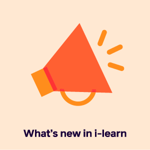 whats new in i-learn